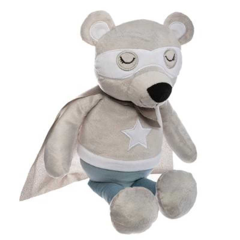 Peluche Ours Super Heros Atmosphera For Kids
