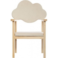 Chaise Dossier Nuage Blanc Atmosphera For Kids