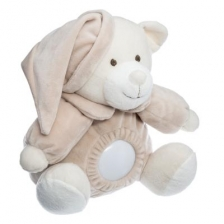 Veilleuse Doudou Ours doux Beige Atmosphera For Kids