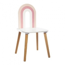 Chaise Arc en Ciel Rose Atmosphera For Kids