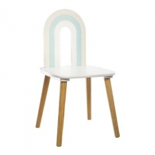 Chaise Arc en Ciel Bleu Atmosphera For Kids