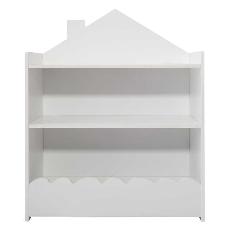 Bibliothèque avec Bac de Rangement Blanc Atmosphera For Kids