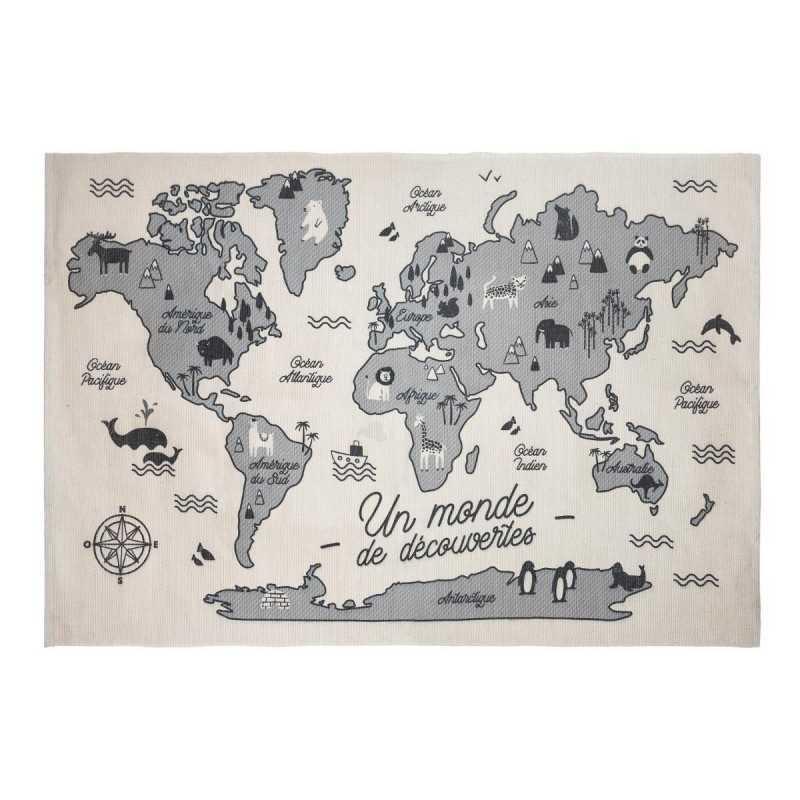Tapis Carte Du Monde Atmosphera For Kids