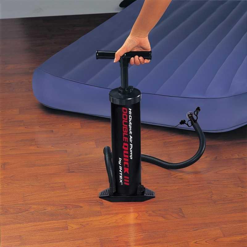 Pompe Double Action 48 CM Noir Intex