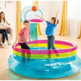"Panier de Basket ""JUMP-O-LENE"" Intex"