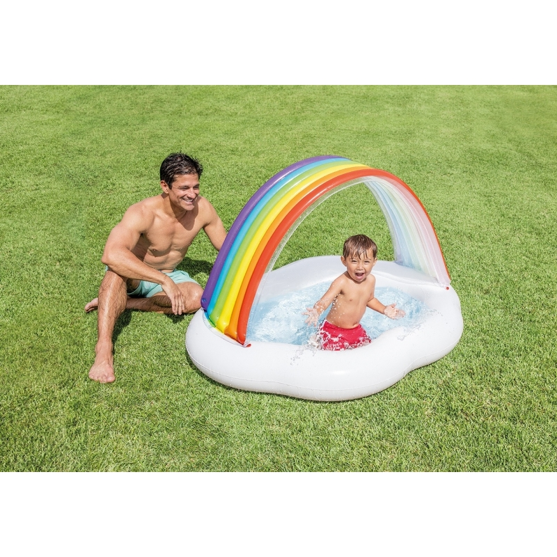 Piscine Arc en Ciel Intex