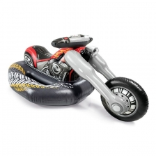 Moto Chopper Gonflable a Chevaucher Intex