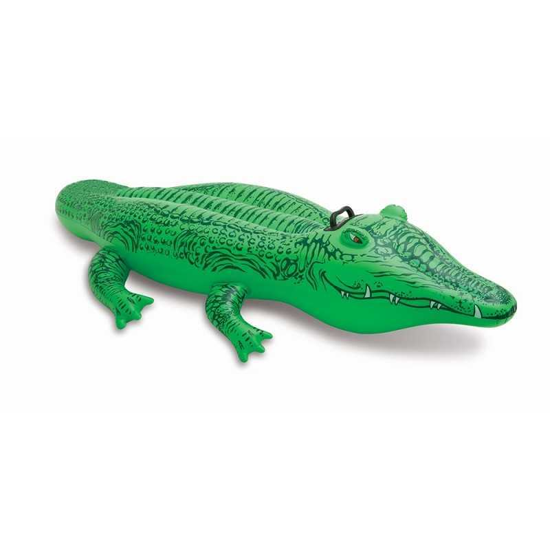 Crocodile Gonflable a Chevaucher Intex