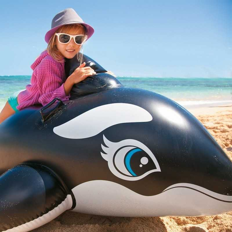 Grande Baleine Gonflable a Chevaucher Intex