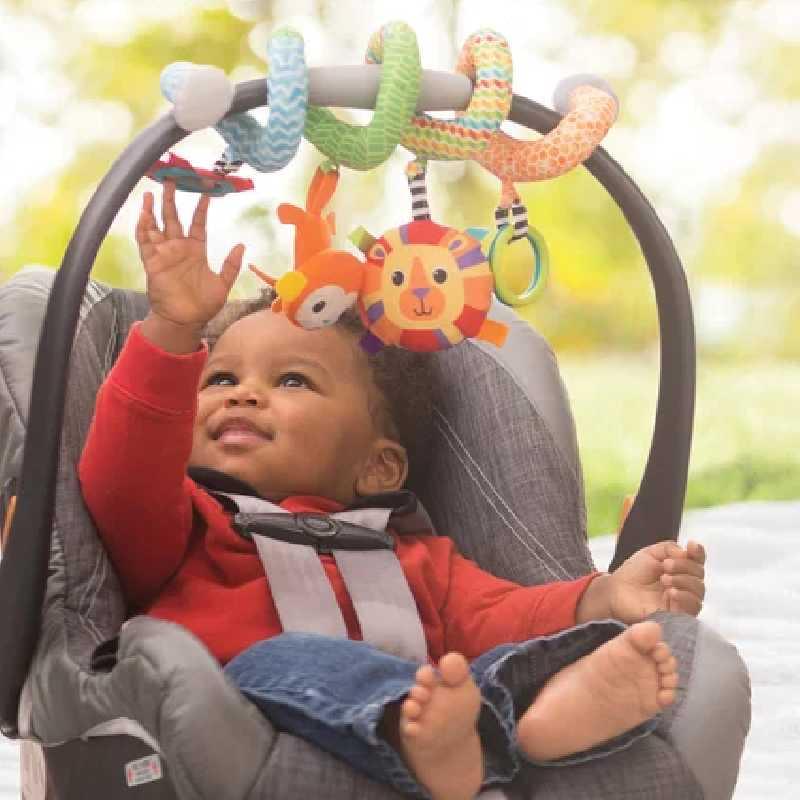 Jeux d'éveil - Spirale d'activités en tissu Infantino