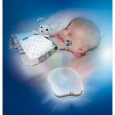 Infantino - Coffret de naissance veilleuse et doudou plat
