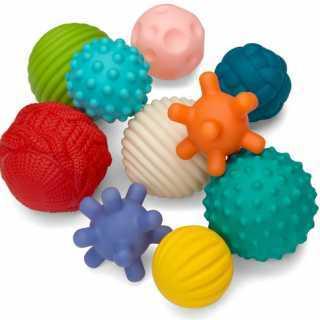 Set de 10 balles sensorielles Infantino