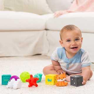 Coffret sensoriel 9 pièces multi-texturées Infantino