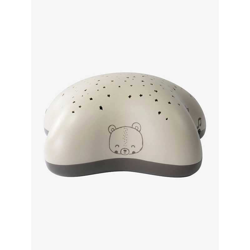 Projecteur d'étoiles musical beige Pabobo