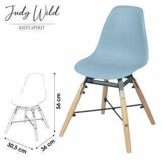 Chaise Bleu pour enfant Judy Wild