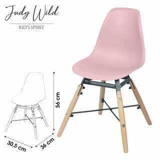Chaise Rose pour enfant Judy Wild