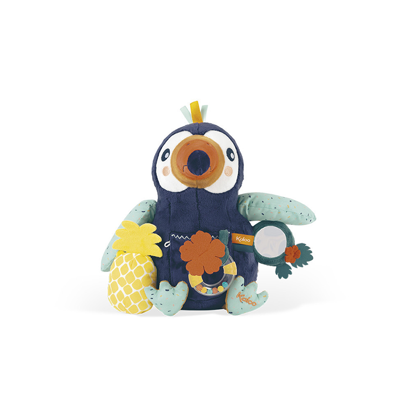 Jungle Peluche d'activité Alban Le Toucan Kaloo