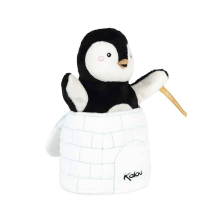 Peluche Marionnette Pingouin Surprise Kaloo