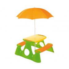 Table de pique-nique avec parasol Judy Wild
