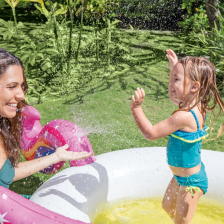 Piscinette Fontaine Licorne Intex