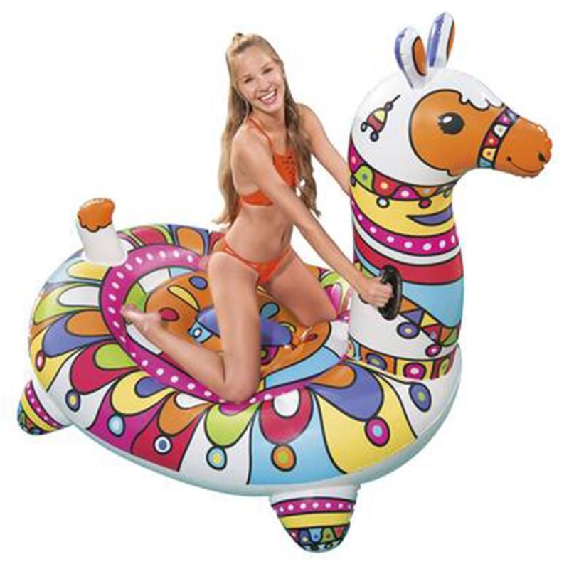 Lama gonflable à chevaucher Bestway