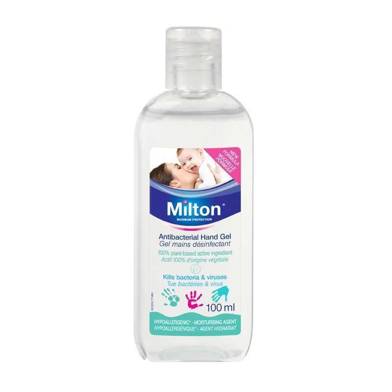 Gel mains désinfectant 100ml Milton