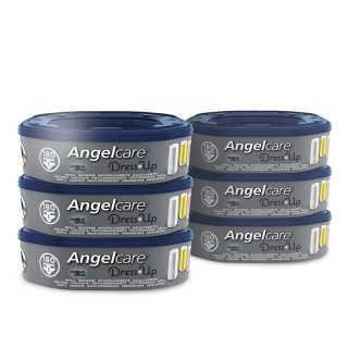 Recharge Angelcare Dress Up Lot de 6 recharges octogonales + Tapis A Langer De Voyage OFFERT