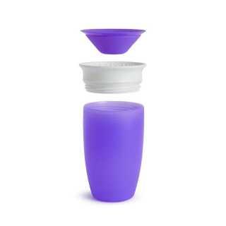 Tasse d'apprentissage 360° Miracle 296 ml Violette Munchkin