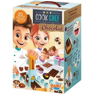 Chef cuisinier Chocolat 20 recettes Buki