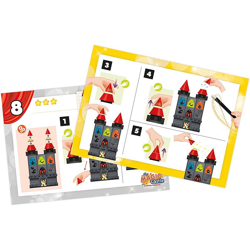 Mon Château Magique 10 tours de magie Buki