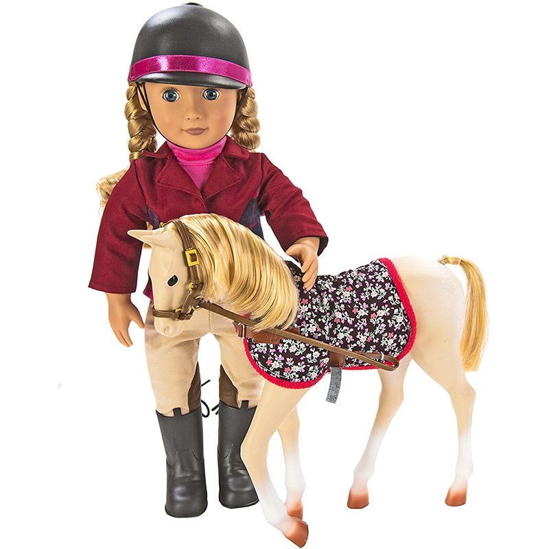 Cheval Poulain 30 cm Palomino Our Generation