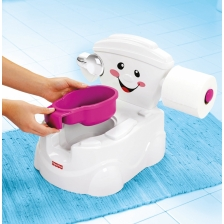 Pot musicale pour bebe version Anglaise Fisher Price