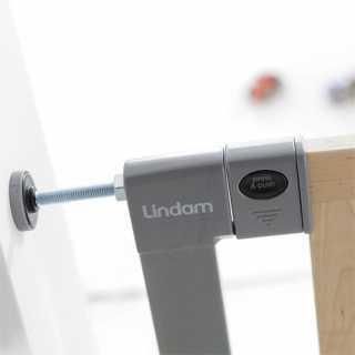 Barrière de Sécurité Sure Shut Deco en bois et métal Lindam