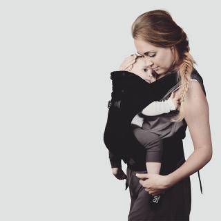 Porte bébé Support 3-en-1 Noir We Made Me