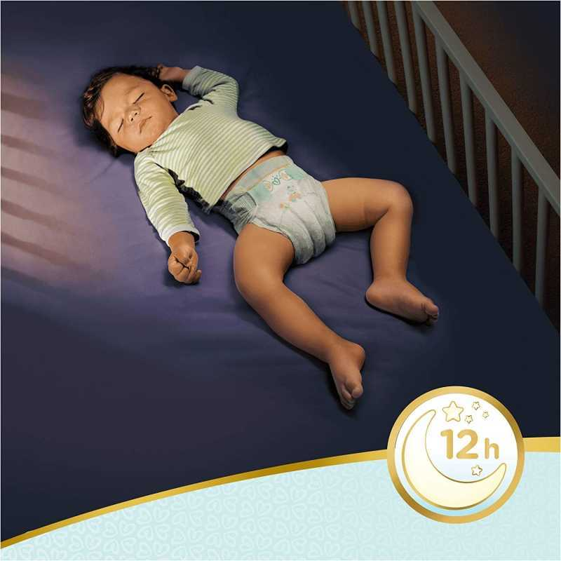 Pampers - Premium protection Nappy Pants - Couches Taille 5 (12-17kg) - Pack 1 mois (x136 culottes)