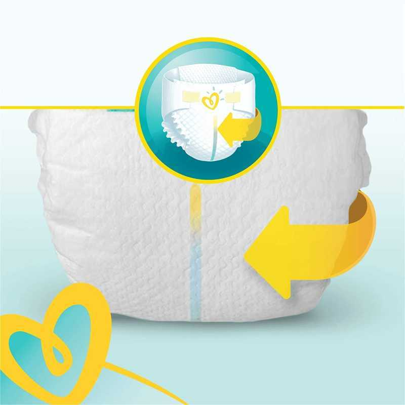 Pampers - Premium protection Couches Taille 5 (11-16 kg) - Pack 1 mois (x136 couches)