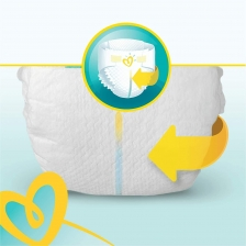 Pampers - Premium protection Couches Taille 4 (9-14 kg) - Pack 1 mois (x168 couches)