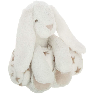 Plaid + Peluche Lapin Blanc Atmosphera