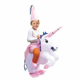 Deguisement gonflable licorne enfant Mister Gadget