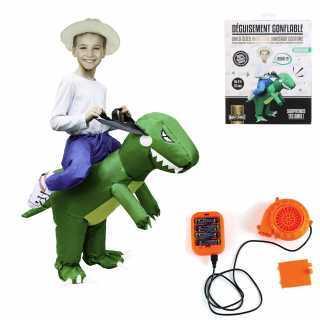 Deguisement gonflable dinosaure enfant Mister Gadget