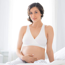 Brassiere de grossesse et d allaitement Blanc S Medela