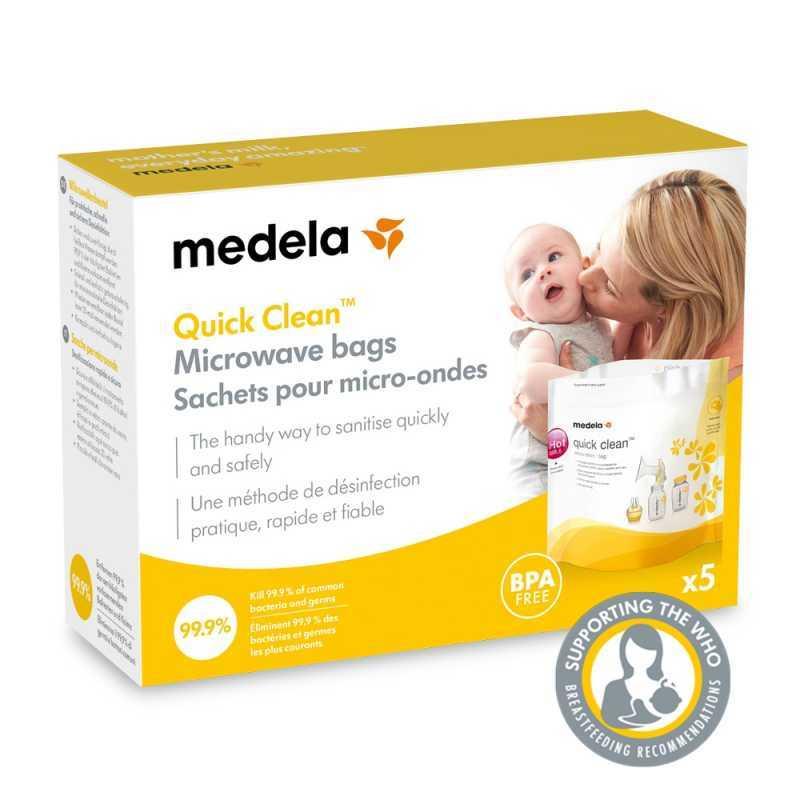 Lot de 5 sachets de sterilisation Medela