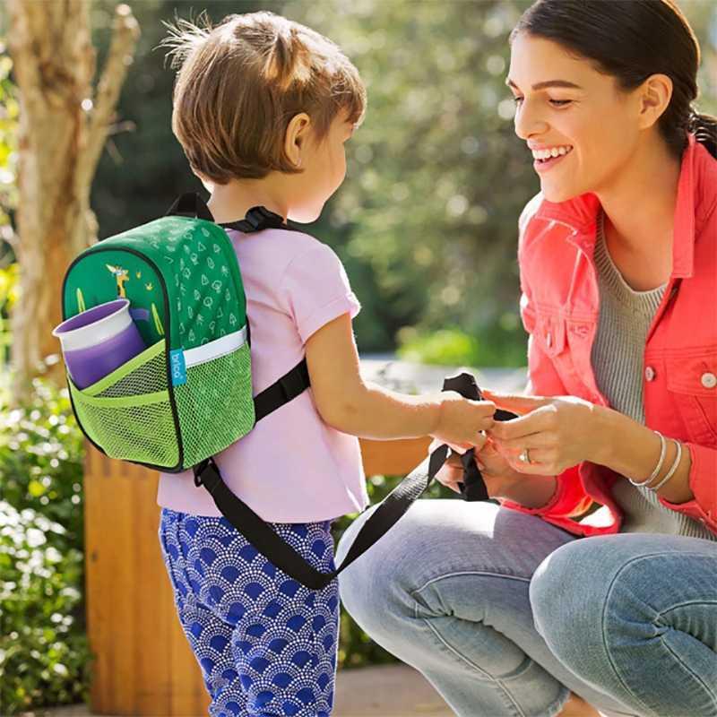 Sac à Dos avec Harnais de Sécurité pour Bébé Vert Munchkin