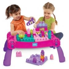 La Table d'apprentissage rose Mega Bloks