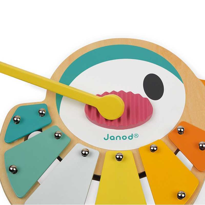 Xylophone Oiseau Pure en bois Janod