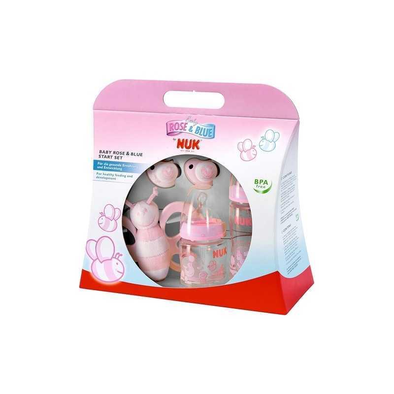 NUK Kit de Naissance - Cadeau naissance - Rose