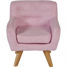 Fauteuil enfant confortable Rose Babygloo