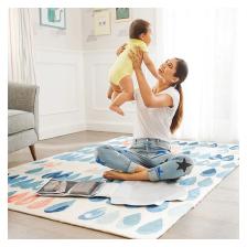 Trousse à Langer pour le Voyage Munchkin - Bleu