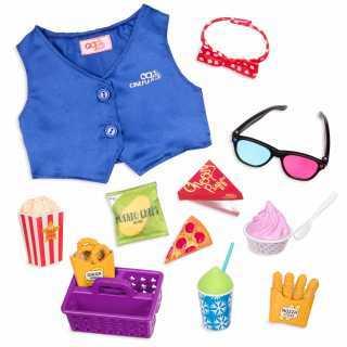 Accessoires cinéma - pop corn Our generation