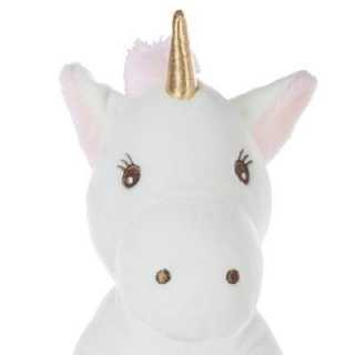Peluche Licorne Rose Atmosphera